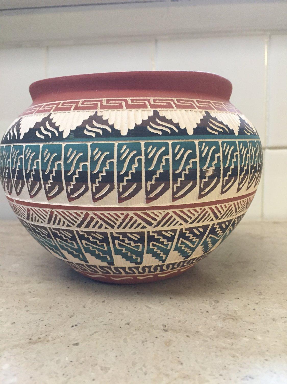 Maggie Begay Navajo Pot 95 Gallup New Mexico