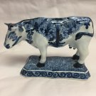 OUD Delft Hand Painted Blue and White Cow