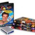 Jaw Droppers 4 DVD Set with Bridge size Pro Brand Svengali Deck