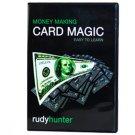 Money Making Card Magic - Rudy Hunter