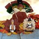 #2700 Turkey trio doll patterns by Bonnie B Buttons