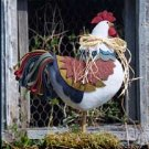 Pattern #3200 Early Riser Rooster by Bonnie B Buttons