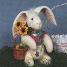 """12"""" Girl Rabbit doll pattern #225 by Bonnie B Buttons"""