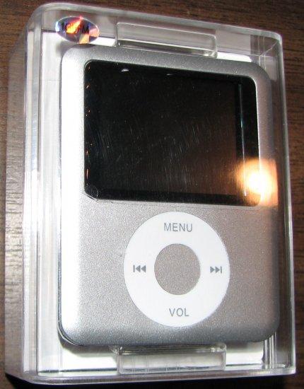 Silver iPod Nano style 3rd Gen MP3 Player