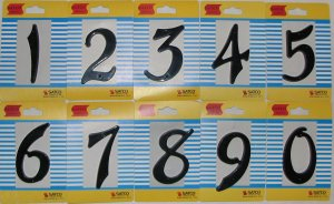 Set of 4 House Numbers