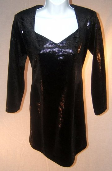 Ladies Black Party Dress Size 8