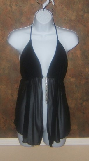 Sexy Black Halter Size Large