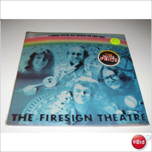 Firesign Theatre - I Think We're All Bozos on This Bus - SEALED Vinyl LP - Comedy