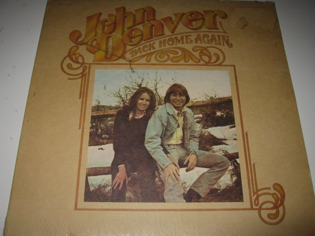 John Denver - Back Home Again - SEALED Vinyl LP - Folk - 1974 RCA Records