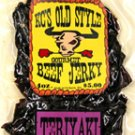 Sweet Teriyaki jerky 4oz.