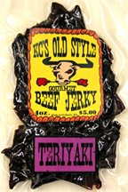 Sweet Teriyaki jerky 4oz.