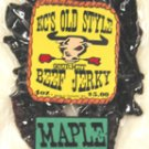 Maple Peppered jerky 4oz.