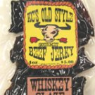 Whiskey Honey glaze jerky 4oz.