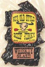 Whiskey Honey glaze jerky 4oz.