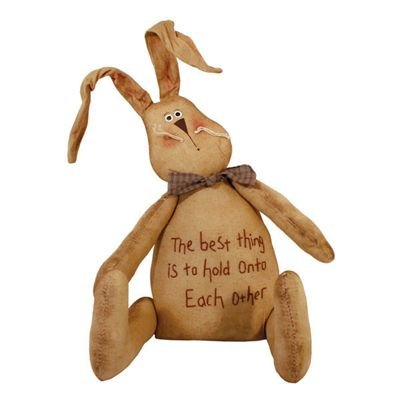 """NEW"" PLUSH BUNNY RABBIT - 12"" H"