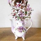 ELEGANT TEA POT FLORAL ARRANGEMENT