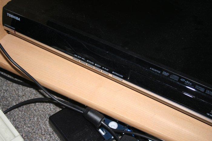 Toshiba A3 HD-DVD Upconverting DVD Player