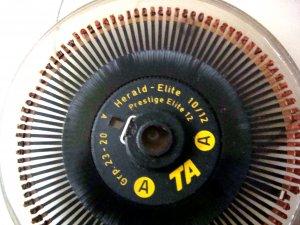 Adler Type Wheel Herald Elite 10/12 GRP 23-20 LN