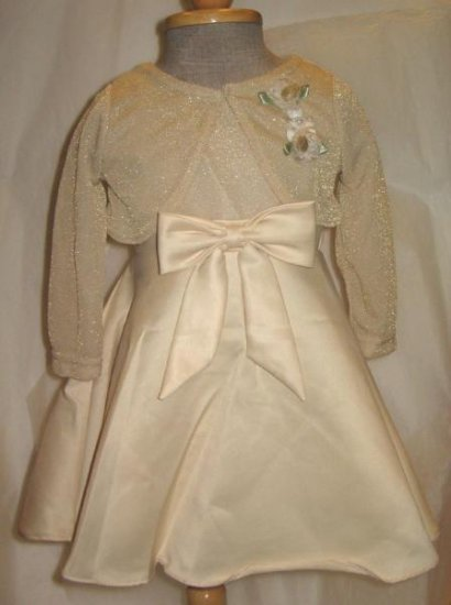 George Girls Party/Flower Girl Dress (with Bolero)