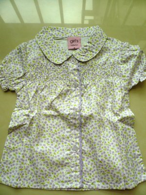 Girls Flowery Top