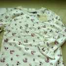 Kids George Long Sleeves Flowery Top
