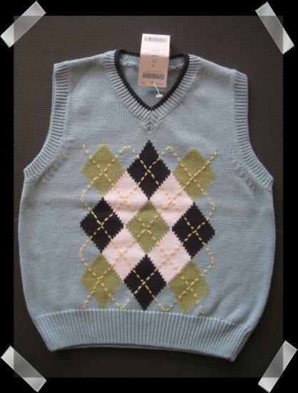 Gymboree Country Club Sweater Vest size 3