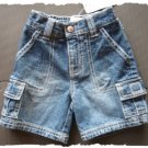 Gymboree Spring Training denim short size 3-6m