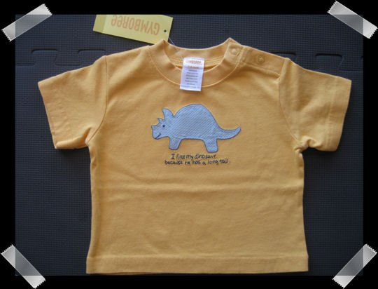 Gymboree My Dinosaur shirt size 3-6 months