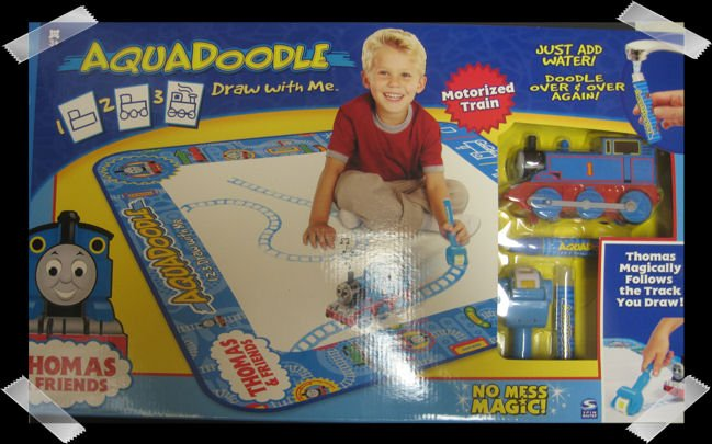 Aquadoodle Thomas and Friends Draw & Doodle Mat NEW