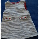 Gymboree Tiger Dress 3-6 m Gently Used