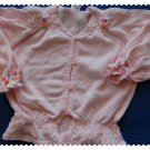 Baby Gap Flowered Pink Sweater 6-12 m New