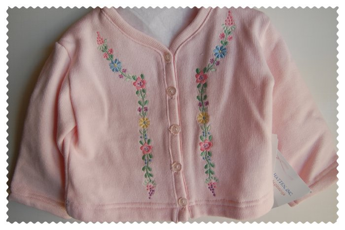 House of Hatten Boutique Girls Pink Sweater 9months NWT