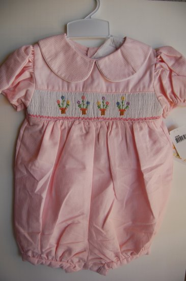 House of Hatten Boutique Girls Pink romper 4T NWT