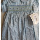 House of Hatten Light Blue Smock Dress size 2T NWT