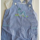 House of Hatten Boy short overall size 6 months NWT