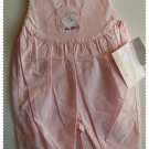 House of Hatten Pink Overall size 9 months NWT