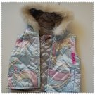 Gymboree Apres Ski Reversible Vest with Hood 6-12 m NEW