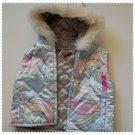 Gymboree Apres Ski Reversible Vest with Hood 6-12 m NEW