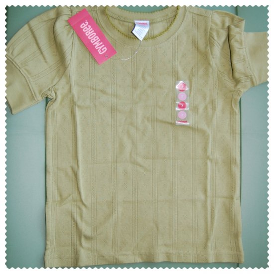 Gymboree Esquestrian Club Girls green shirt size 7 NWT