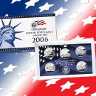 Year 2006 50 States Quarters Clad Proof Set