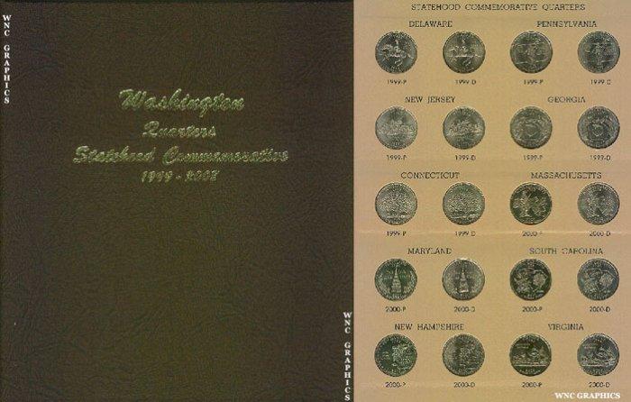 BU State Quarter Collection in Dansco Album-Complete!