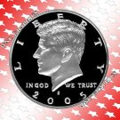 2005 S Kennedy Silver Proof Half *Nice Cameo*