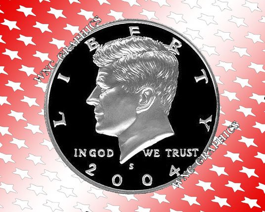 2004 S Kennedy Silver Proof Half *Nice Cameo*