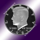 1987 S Kennedy Proof Half *Nice Cameo*