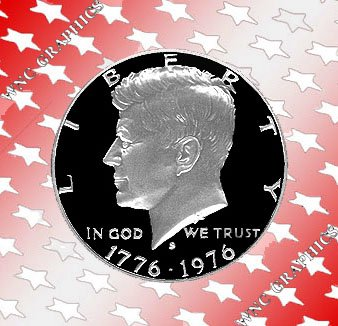 1976 S Kennedy 40% Silver Proof Half *Nice*