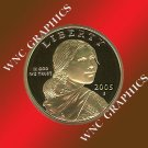 2005 S Sacagawea Proof *Indian Princess*
