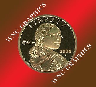 2004 S Sacagawea Proof *Indian Princess*