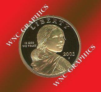 2003 S Sacagawea Proof *Indian Princess*