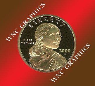 2000 S Sacagawea Proof *Indian Princess*