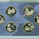 2009 DC & US Territories Clad Proof Set-All 6 Coin
